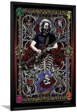 Grateful Dead - Jerry Card - Poster