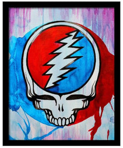 Grateful Dead - Steal Your Face Portrait - Poster