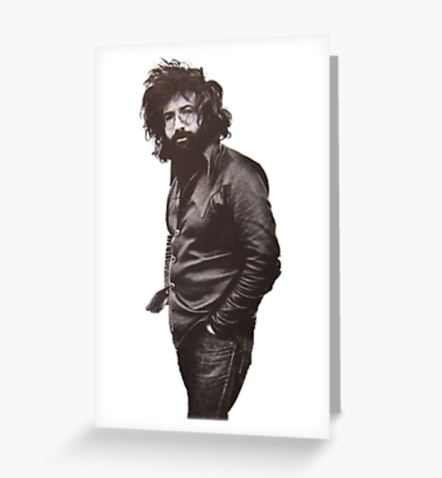 Grateful Dead - Jerry Posing - Greeting Cards & PostCards