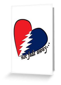 Greeting cards post cards store your face grateful dead not fade away greeting cards postcards m4hsunfo