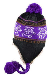 Grateful Dead - Dancing Bears Knit Hat - Hats