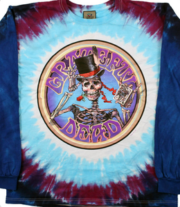 Grateful Dead - Dapper Skeleton - Long Sleeve