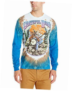 Grateful Dead - Banjo Tie-Dye - Long Sleeve Shirt