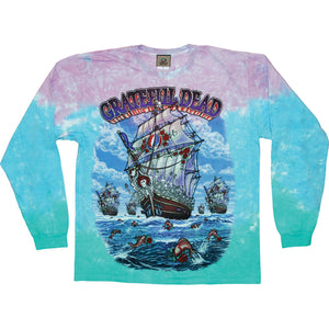 Grateful Dead - Ship Of Fools Tie-Dye - Long Sleeve Shirt