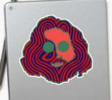 Grateful Dead - Jerry Face - Sticker