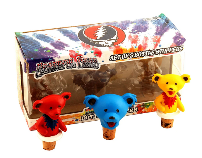 Grateful Dead - Bear Bottle Stoppers - Special Products