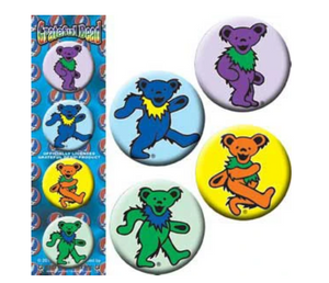 Grateful Dead - Bear Buttons - Special Products