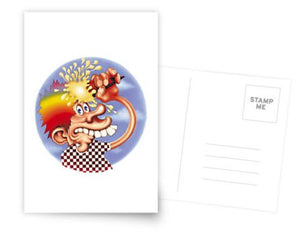 Grateful Dead - Ice Cream Kid - Greeting Cards & Postcards