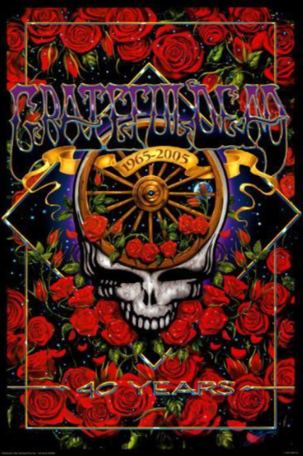 Grateful Dead - 40th Anniversary - Poster