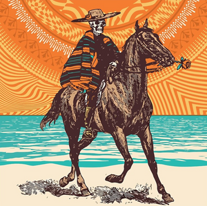 Grateful Dead - Dead in the Desert - Poster