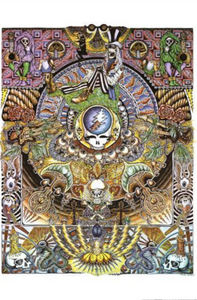Grateful Dead - Psychedelic Trip - Poster