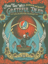 Grateful Dead - Fare Thee Well (50 Years) - Poster Print