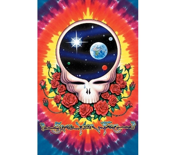 Grateful Dead - Crying Skull - Poster