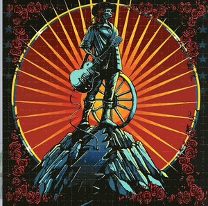 Grateful Dead - Begonia & Skeleton - Poster