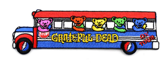 Grateful Dead - Bears in Bus (Further & The pranksters) - Patch
