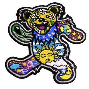 Grateful Dead - Day/Night Bear  - Patch