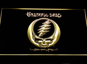 Grateful Dead - Steal Your Face - LED Neon Light Sign