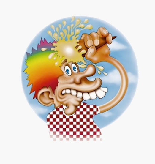 Grateful Dead - Ice Cream Kid - Sticker