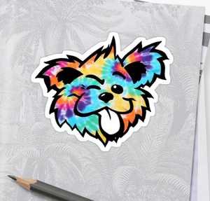 Grateful Dead - Tie Dye Bear - Sticker