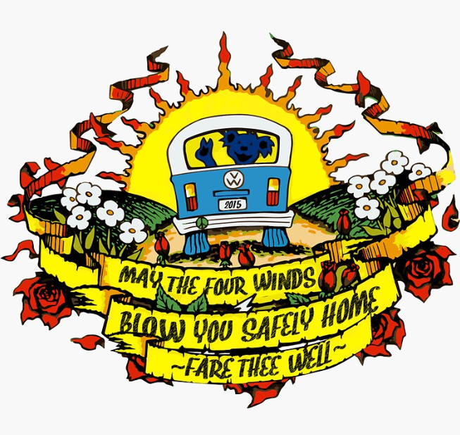 Grateful Dead - Fare Thee Well - Sticker