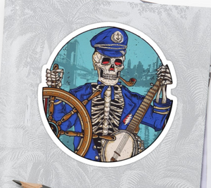 Grateful Dead - Captain Dead - Sticker