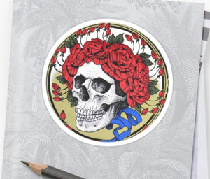 Grateful Dead - Bertha Head - Sticker