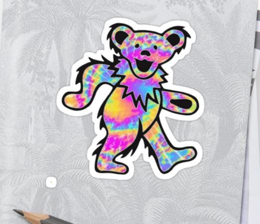 Grateful Dead - The Bear - Sticker