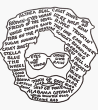 Grateful Dead - DeadHead SongHead - Sticker