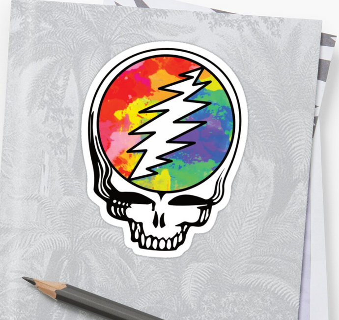 Grateful Dead - SYF Color Splat - Sticker