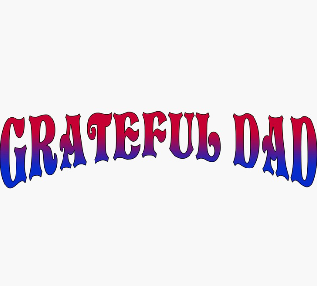 Grateful Dead - Grateful Dad - Sticker