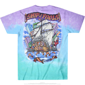 Grateful Dead - Ship Of Fools Tie-Dye - T-shirt