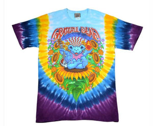 Grateful Dead - Guru Bear (Tie-Dye) - T-shirt