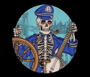 Grateful Dead - Captain Dead Black - Tapestry
