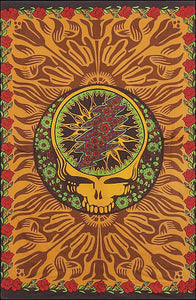 Grateful Dead - Orange Skull - Tapestry