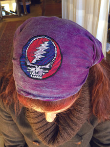 Grateful Dead - Cotton Stone-wash Headband With SYF Embroidery - Headband