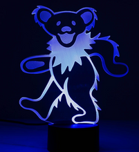 Grateful Dead - LED Bear Lamp - Special Products