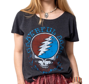 Grateful Dead - STY Off the Shoulder - Women's