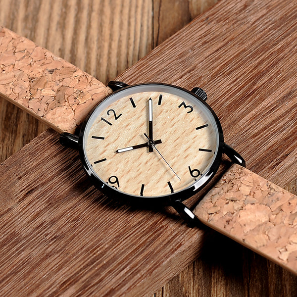 BOBO BIRD Women's Vintage Design Wooden Bamboo Watch