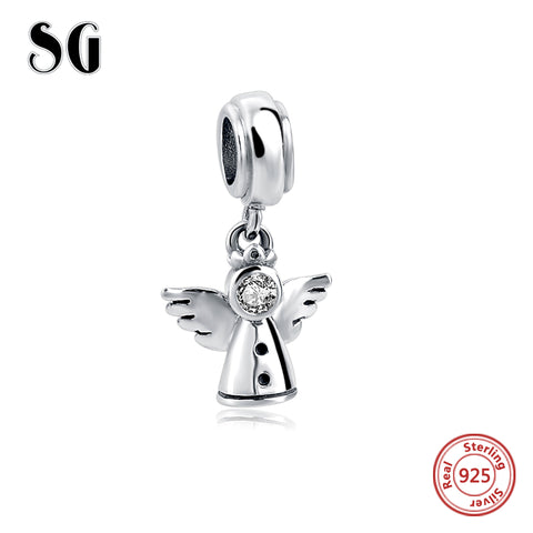 Sterling Silver Angel Charms for Pandora Bracelet