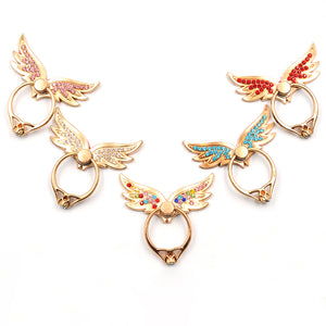 Angel Wings Mobile Finger Ring Stand