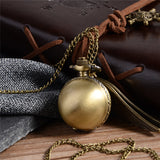 Antique Wing Snitch Ball Necklace Watch
