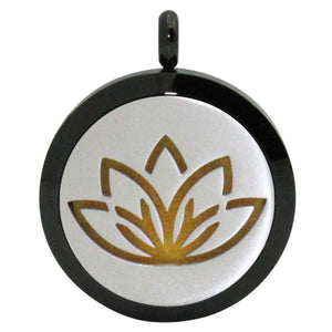Lotus Aromatherapy Diffuser Necklace