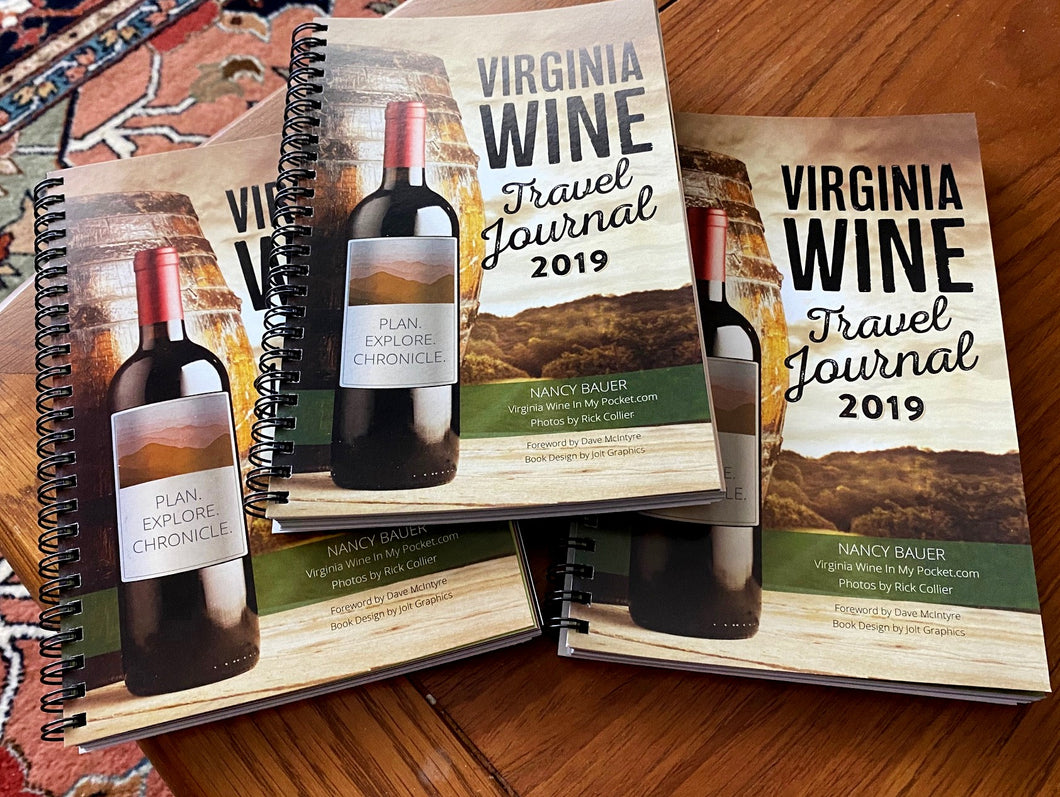 GROUP SALE ONLY: Save 50% on Virginia Wine Travel Journals!