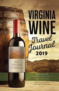 E-BOOK VERSION - Virginia Wine Travel Journal (2019 edition)