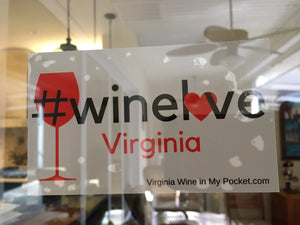 #WineLove Decal