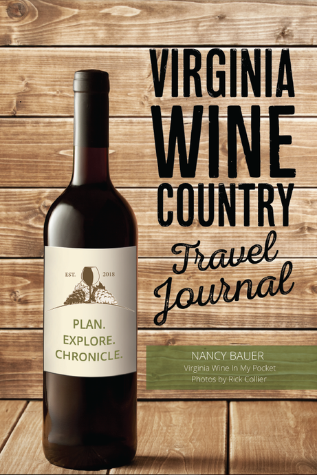 SIGNED FIRST EDITION - Virginia Wine Country Travel Journal (2018)