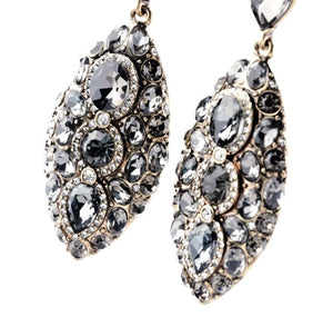 Sarah Earrings (Black/Grey)