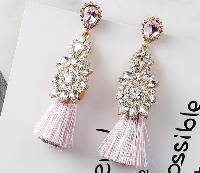 (Jessica) Tassle Earrings
