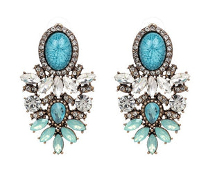 Grace Earrings (Turquoise)