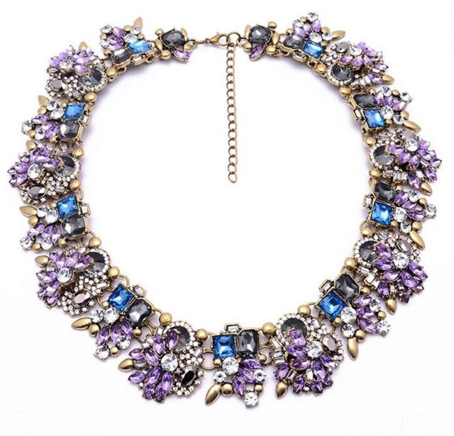 Holly Necklace (Lilac)